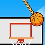 سقوط كرة السلة